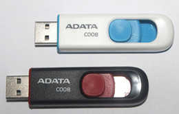 Wholesale Memory Pens 2gb - 100% Real original capacity ADATA C008 2GB 4GB 8GB 16GB 32GB 64GB 128GB 256GB USB 2.0 Flash Memory Pen Drive Sticks Pendrives Thumbdrive