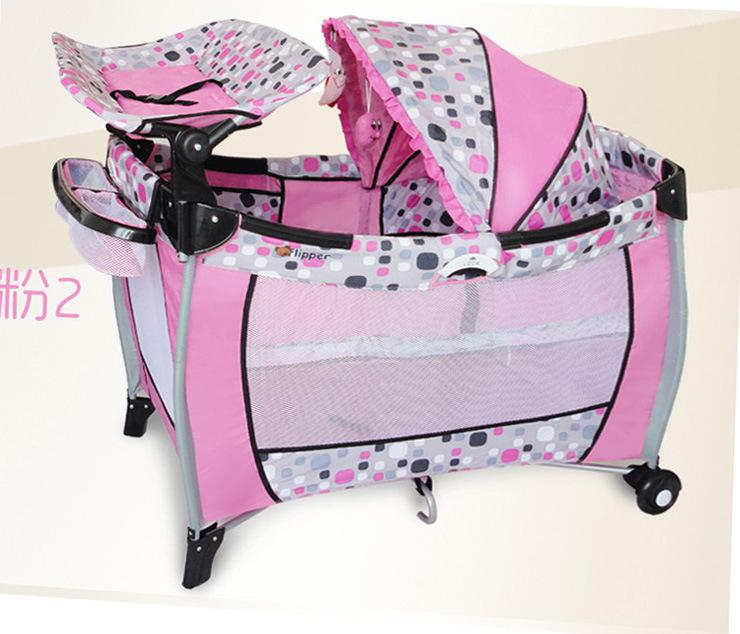 Online Cheap Tony House Foldable Portable Crib New Multifunction Cradle  Baby Crib Bed By China Top Brand | Dhgate.Com