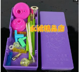Wholesale Smoking Children - Wholesale Smoking shipping - Super 18 sets of combinations of mineral water bottle child accessories, hookah accessories