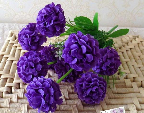 Gefälschte Hortensie Blume 10 Stücke 35 cm / 13,78