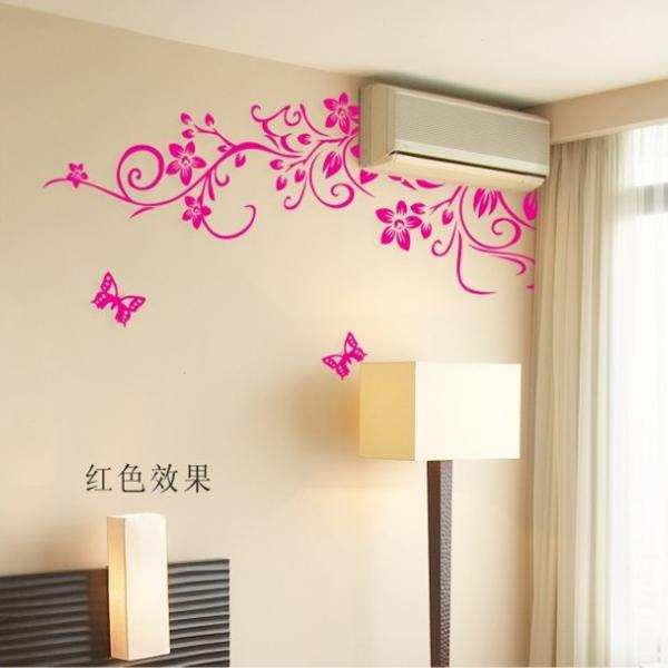 removable wall stickers bedroom decorated air conditioned living