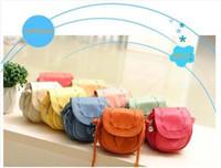 Wholesale Mini Shoulderbag - Wholesale-Pomotion Mini leather lady shoulderbag,leather bags,cute and mini,free shipping, 1pce wholesale,top quality,TM-011
