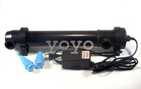 Wholesale Jebo Aquarium UV Sterilizer W Light Lamp Clarifier Pond Fish Reef Coral Tank