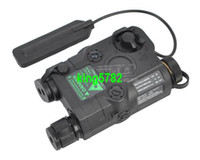 Wholesale Laser Peq 15 - Tactical Flashlight Green Laser and Green Torch (BK) PEQ 15 free shipping