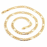 Wholesale thick heavy gold chain online - 600mm Grams mm Wide Heavy Thick Fashion High Quality Jewelry k Solid Yellow Gold Filled For Men s Long Necklace Chain C04