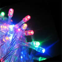 Wholesale 1m Purple Fairy Lights - Christmas String LED String Light 1M 2M 3M 4M 5M LED String Mini Fairy Light 3XAA Battery Operated LED String Light Christmas Lights Strings
