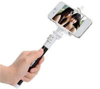 Wholesale mini wireless bluetooth camera resale online - Professional Bluetooth Handphone Shutter Controller Handphone Clip phone holder mini Tripod for smartphone camera tablet