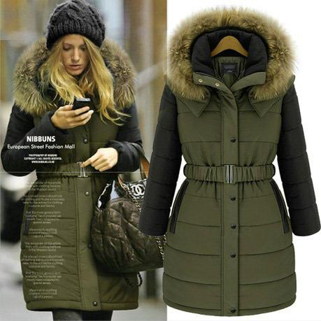 2018 New Winter Women Coat 2014 Fashion Cotton Jacket Warm Long ...