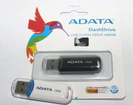 Wholesale 32gb Usb Flash Memory Drives - 100% Real original capacity ADATA C906 2GB 4GB 8GB 16GB 32GB 64GB 128GB 256GB USB 2.0 Flash Memory Pen Drive Sticks Pendrives Thumbdrive