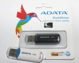 Wholesale Wholesale 2gb Usb Flash Drive - 100% Real original capacity ADATA C906 2GB 4GB 8GB 16GB 32GB 64GB 128GB 256GB USB 2.0 Flash Memory Pen Drive Sticks Pendrives Thumbdrive