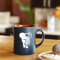 Wholesale Elephant Stamp - Wholesale-Free Shipping CPAM Starbucks Mugs 2013 Newest Kenyan Cartoon Elephant Small Waistline Stamps 12OZ Coffee Cups
