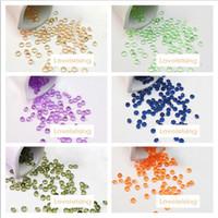 Wholesale Diamond Crystal Confetti Decoration Gems - 25 colors chooses--10000pcs lot 4.5mm Acrylic Diamond Confetti Acrylic Crystal Gems Beads Wedding Party Supplies Crystal Decor