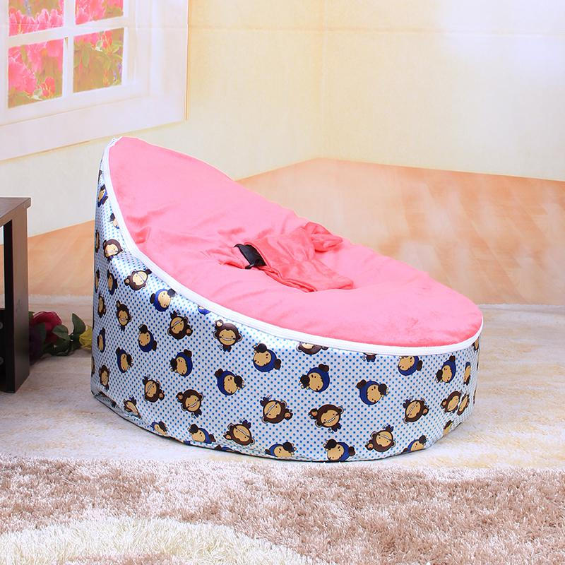 Short Description Fixed Wholesale Or Retail Monkey Print Of Baby Bean Bag Chair