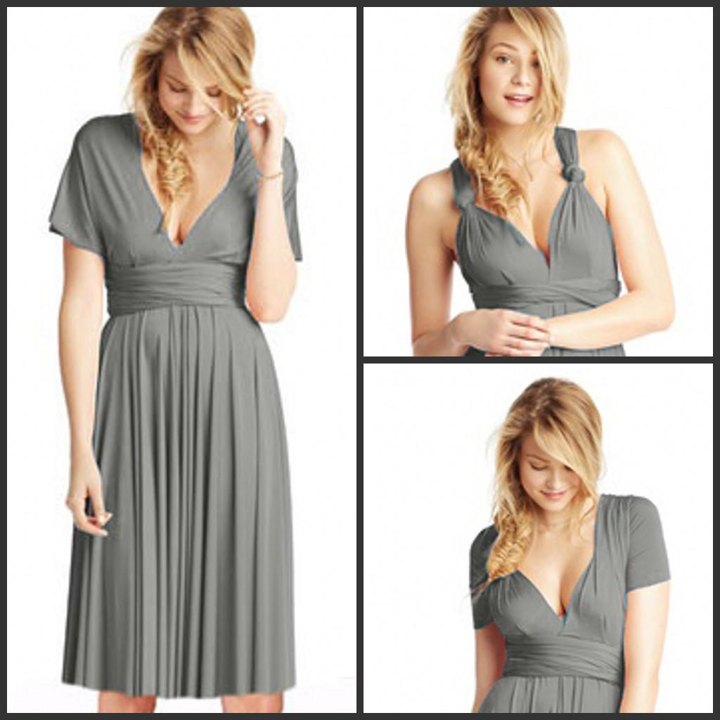 Delicate cheap simple spaghetti strap short sleeves bridesmaid delicate cheap simple spaghetti strap short sleeves bridesmaid party dress convertible bridesmaid dresses infinity dresses multi way styles affordable ombrellifo Images