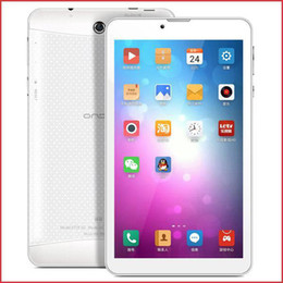 Wholesale Android Tablet 3g Sim Slot - 7Inch Onda V719 Quad Core MTK8382 Android 4.2 Jelly Bean 1GB RAM 8GB Storage HD phablet 3G Phone Call Tablet Dual Sim Slot GSM WCDMA MQ05