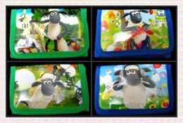 Wholesale Credit Card Orders - Wholesale new 12pcs Shaun the sheep wallet coins bag mix order Free shipping