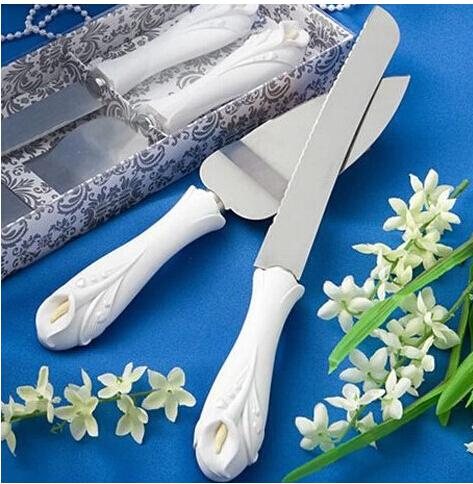 wedding cake knife and server set cheap cheap wedding cake knife and server set handle 23011