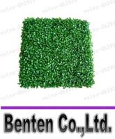 ingrosso tappeto erboso artificiale-tappeto erboso artificiale di plastica di bosso di plastica 25cm * 25cm trasporto libero LLFA7022