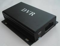 Wholesale Mini 2ch Sd Dvr Video - Wholesale-2Ch SD Card Mini CCTV DVR Digital Video Recorder D1Motion Detection+Cycle Recording+G-Sensor+Remote Control Free Shipping