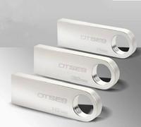 speicherstift 128 großhandel-100% echte ursprüngliche Kapazität 2 GB 4 GB 8 GB 16 GB 32 GB 64 GB 128 GB 256 GB Wasserdichter rostfreier rotierender Schlüsselanhänger USB 2.0 Flash Memory Pen Driver
