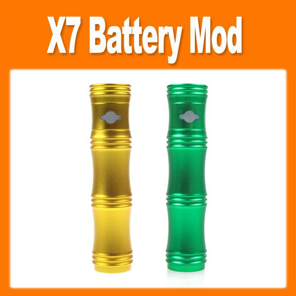 2014 NEWEST  quality X7 Bamboo Shape Variable Voltage Electronic Cigarette E-cigarette Mechanical Mod with CE4 atomizer 0207031