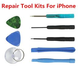 8 en 1 réparation Pry Kit outils d'ouverture 5-Point Star Tool Tournevis pour iPhone 4 4S 5 5S Crowbar Blue Shell pour iPod 500set (= 4000pcs) ? partir de fabricateur