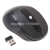 Wholesale Laptop Products - Wholesale-NEW product Mini USB 2.4Ghz Optical Wireless Mouse Mice + USB Receiver slim for PC Laptop Computer Portable free shipping