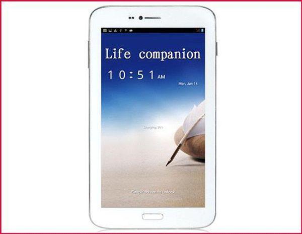 6.2 pollici AMPE A62 3G Quad Core MTK8382 Android 4.2 Jelly Bean 1 GB di RAM 8 GB di archiviazione IPS schermo Dual fotocamere WIFI GPS Tablet Phone MQ05