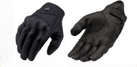 Wholesale Model Motorbikes - 2014 New Model Moto Racing Gloves punch no punch Cattle Leather motorcycle gloves motocross motorbike glove black color and size M L XL