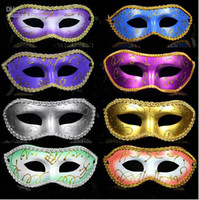 Wholesale Cheap Carnival Masks - Classic Masquerade Mask for Masquerade Parties and Carnivals Cheap Upgrade Anonymous Venetian Mask