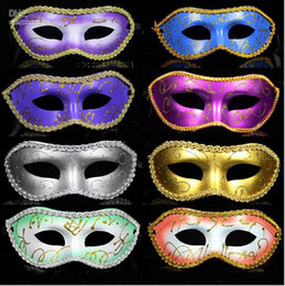 Wholesale Cheap Men Masquerades - Classic Masquerade Mask for Masquerade Parties and Carnivals Cheap Upgrade Anonymous Venetian Mask