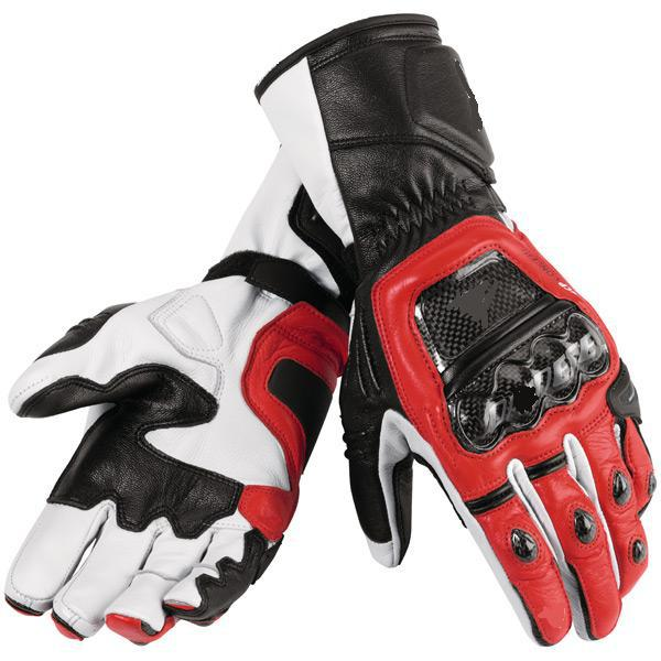 druids leather glove motorcycle motorbike gloves six color