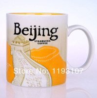 Wholesale Starbucks Bone China Cups - Wholesale-City Starbucks cup ceramic materials, office mug, coffee cup, can be a good gift. There are 16 cities, (470ml 16oz).