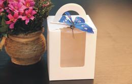 2019 disegni per i bigné 2014 fashion design 4 colori scegliere maniglia singola 9X9cm cupcakes cupcake scatole regalo per la festa di nozze Hppay sconti disegni per i bigné