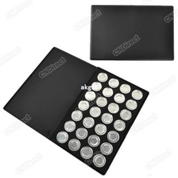 Wholesale Eyeshadow Palette 26mm - Wholesale -2012 New 28 Piece 26mm Empty Eyeshadow Aluminum Pans with Palette#R801
