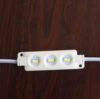 Module led haute puissance SMD5630 5730 Injection ABS Plastique 3leds 1.5W DC12V Lumen élevé Modules led rétro-éclairage String White Red Blue