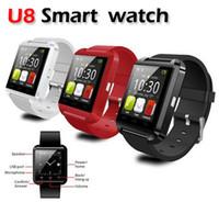 s4 telefone zum verkauf großhandel-Heiße Verkauf Bluetooth Smart U8 Uhr Armbanduhr für Samsung S4, S5, S6 Rand Note 3,4 HTC Android Phone