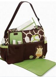 Wholesale Baby Diaper Cartoons - Free shipping new 2014 mummy nappy bag cartoon maternity handbag diaper bags baby tote