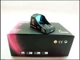 2019 visão docter Mini Docter Sight escopo holográfico rifle vista reflexiva Reticle Brilho ajuste Airsoft escopo a laser holográfico desconto visão docter