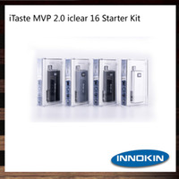 Wholesale Electronic Cigarette Mvp - 100% Original Innokin iTaste MVP 2.0 Starter Kit With Iclear 16 Dual Coil Atomizer And 2600mAh Battery Electronic Cigarette Kit