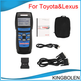 Wholesale Toyota Memoscan - Memoscan T605 TOYOTA LEXUS OBD2 EOBD CAR Code reader SCANNER diagnostic TOOL DHL post free shipping