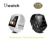 Wholesale Newest S4 Phone - Newest Bluetooth Smart U8 Watch Wrist Watch for iPhone 4 4S 5 5S Samsung S4 Note 3 HTC Android Phone
