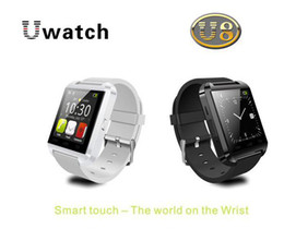 Wholesale S4 Watch - Newest Bluetooth Smart U8 Watch Wrist Watch for iPhone 4 4S 5 5S Samsung S4 Note 3 HTC Android Phone