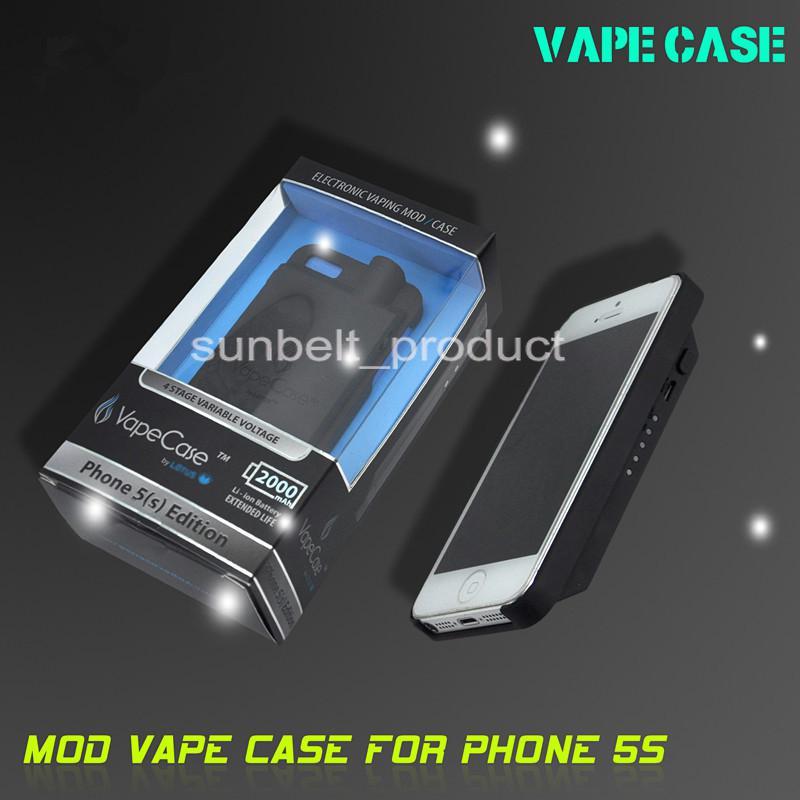 iphone vape case. for iphone 5 electronic cigarette original vision vape case mod rebuildable atomizer dry herb vaporizer dhl 18650 ecig battery automatic e cig