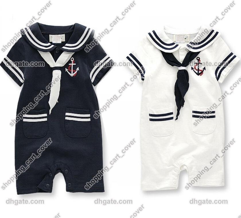 7c44e067f143 2018 Baby Infant Kid Child Toddler Boy Girl Navy Sailor Marine Grow ...