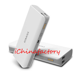 Wholesale External Battery 4s - Mobile Power Bank - ROMOSS Sense 4 10400mAh Portable External Backup Power Battery Charger Pack for iPhone 6 5s 4s HTC Samsung s4 s5