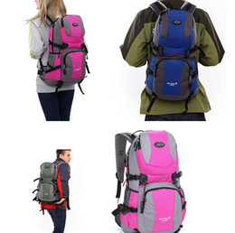 Discount student backpack bags - 32L mountaineering bag outdoor travel backpack casual student backpack for women men athletic sports hiking camping bags