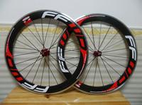 karbon jantlar, alaşım frenleme yüzeyi toptan satış-FFWD F6R yeni Hızlı İleri 700C (60mm) Kattığı Wheelset Alaşım Fren Yüzey Karbon Yol Bisikleti Jantlar