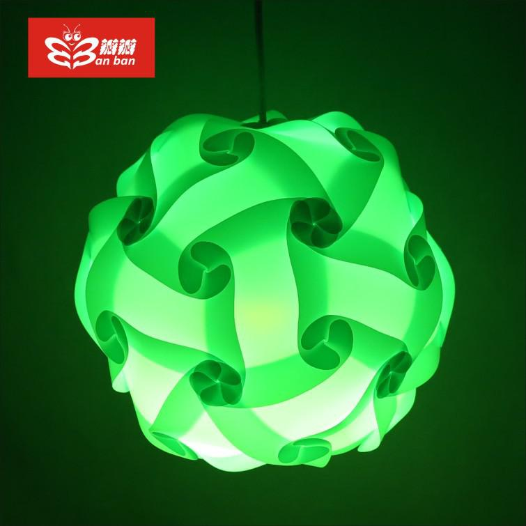 2017 Lamp Covers /Direct Green Plastic Prosthetic Home Petal ...