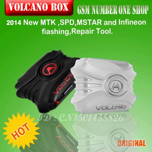 Volcano box for China mobile phone unlock Flash and Repair with 4 cable and 32 pcd board +free shipping +EMS,DHL,Fedex